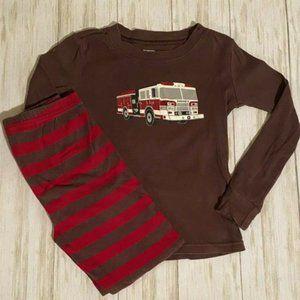 Gymboree Firetruck Pajamas PJs 6